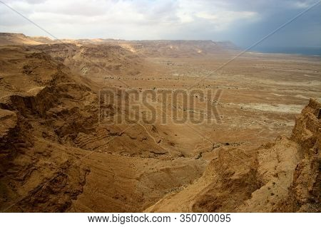The Judaean Desert Or Judean Desert Is A Desert In Israel And The West Bank That Lies East Of Jerusa