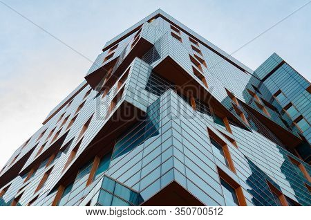 Anapa, Russia - May 9, 2019: The Building Of The Residential Complex