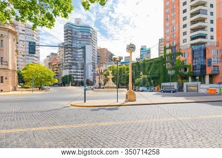 Osario Argentina February 10 Entrance To The Historic Center Of The City From Cabral Street In North