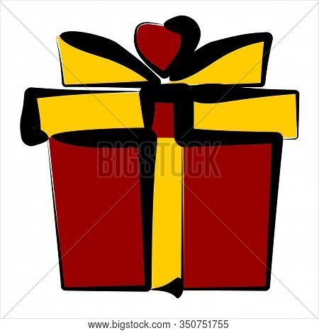 Gift Box. Gift Box Vector. Gift Box Icon. Gift Box Background. Gift Box Vector Illustrations. Gift B