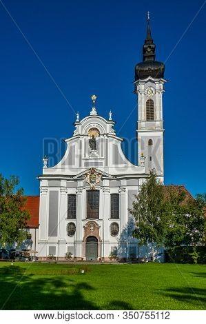 18th Century Baroque Marienmuenster Church, Diessen, Ammersee, Bavaria Germany