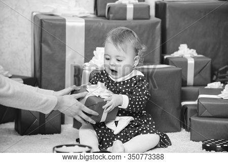 Celebrate First Christmas. Sharing Joy Of Baby First Christmas With Family. Baby First Christmas Onc