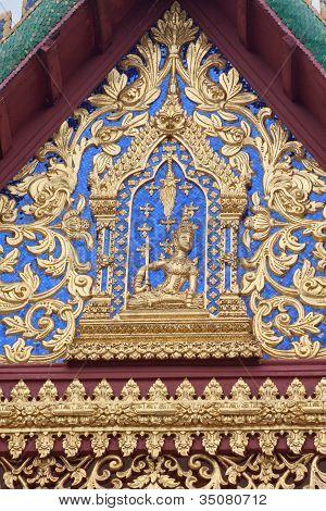 Thai-Stil Tympanon