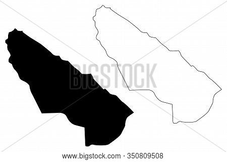 Kisela Voda Municipality (republic Of North Macedonia, Skopje Statistical Region, Greater Skopje) Ma