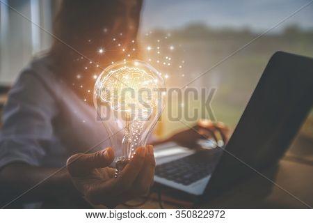 Creative Idea. Concept Of Idea And Innovation