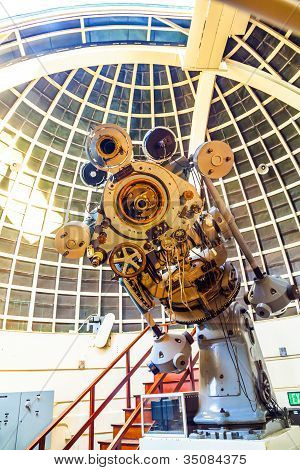 Zeiss Telescope At The Griffith Observatory
