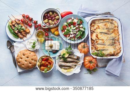 Greek Food.