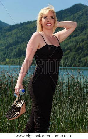 Fashion at the lake