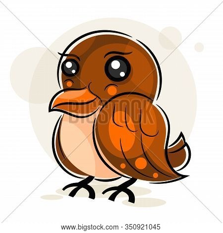Little Sparrow Vector Illustration For Your Design