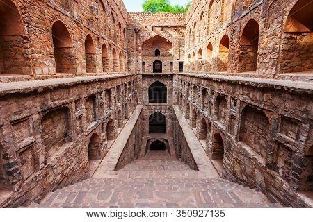 Agrasen Ki Baoli Or Ugrasen Ki Baodi Is A Historical Step Well Near Connaught Place In New Delhi, In