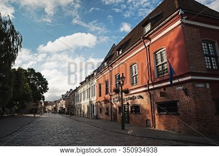 Streets Of Kaunas Old Town