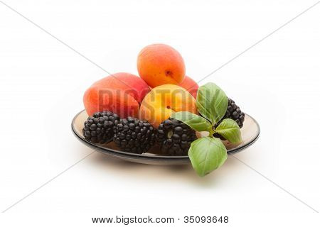 Apricot And Blackberry