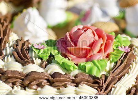 Of Pastry Cream Of The Cream Flower