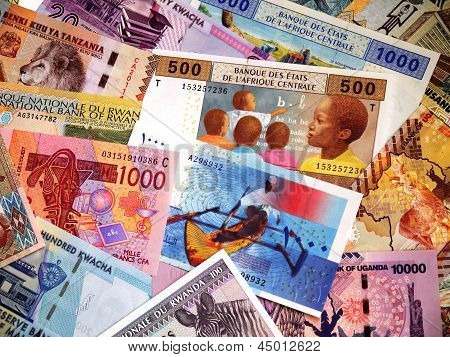 Banknotes in Africa