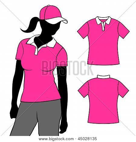 T-shirt polo design.