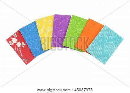 Colorful Origami Paper