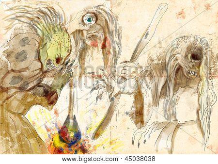 Stygian Witches