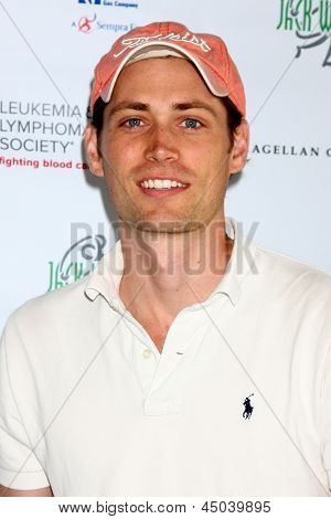 LOS ANGELES - APR 15:  Zack Conroy at the Jack Wagner Celebrity Golf Tournament benefitting the Leukemia & Lymphoma Society at the Lakeside Golf Club on April 15, 2013 in Toluca Lake, CA