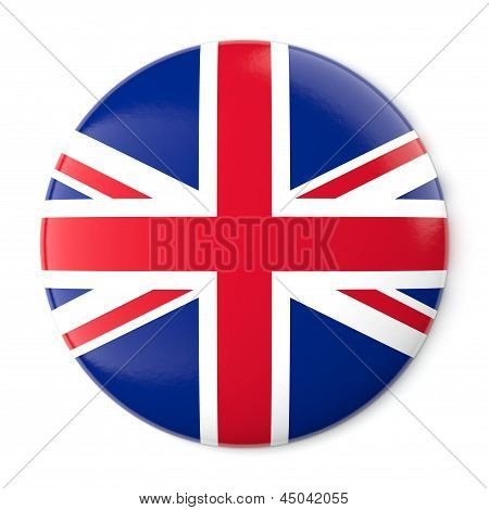 United Kingdom Pin-back