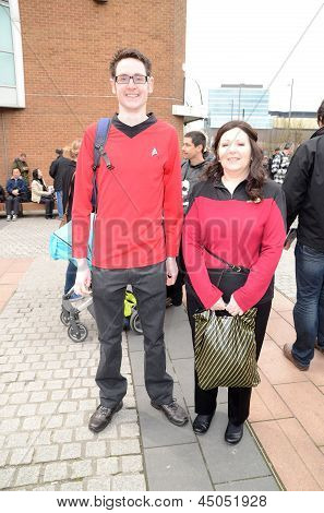 The Sci Fi London Parade To Mark The Start Of The 2013 Sci Fi London Film Festival Stratford London