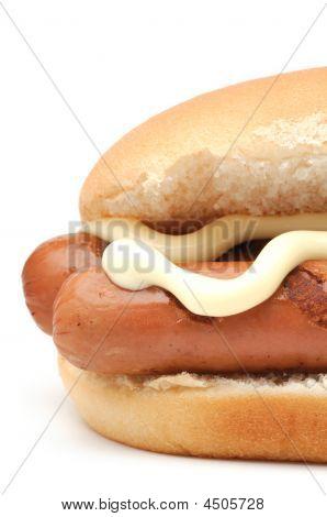 Hot Dog Closeup