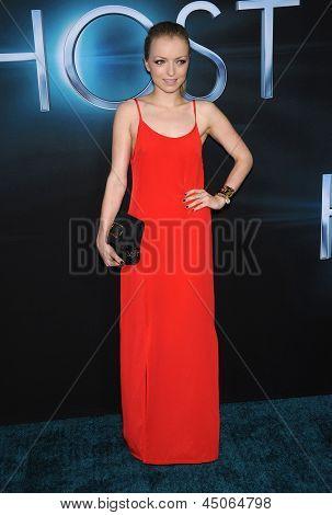 LOS ANGELES - MAR 19:  Francesca Eastwood arrives to the