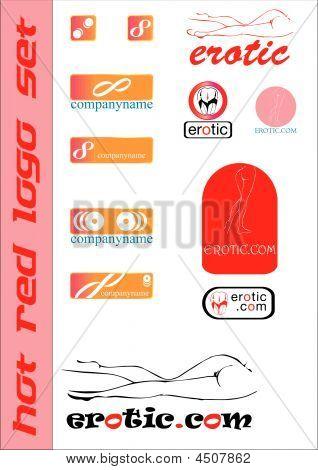 Erotic Logo Set