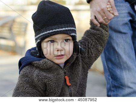 Child with parent