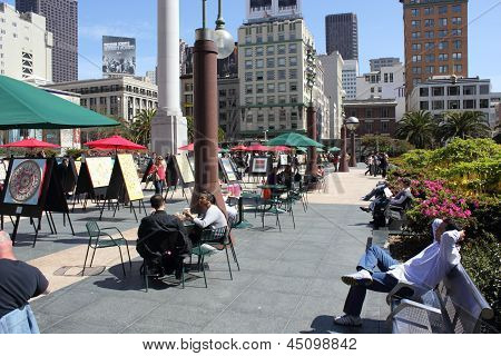 Union square, San Francisco 2013