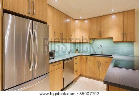 Kitchen Interior, Modern Design Architecture, Luxury Home