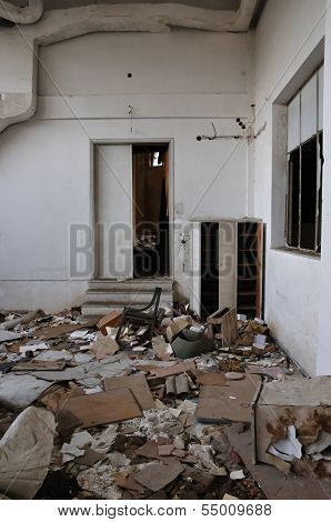 Vandalized Room