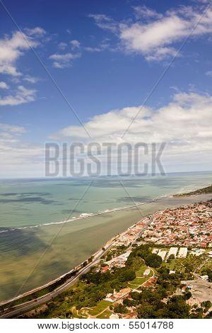 Porto Seguro fro the sky - Bahia, Brasil.