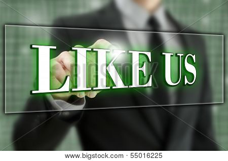 Like Us Button