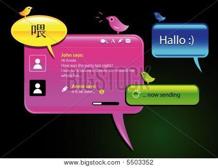 Messaging Balloons