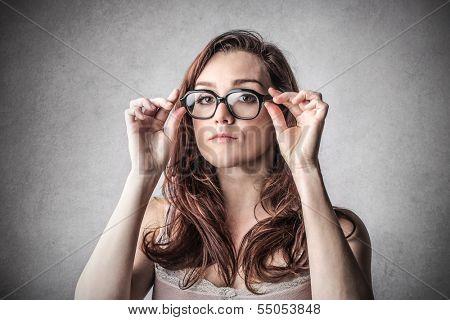 Austere Woman