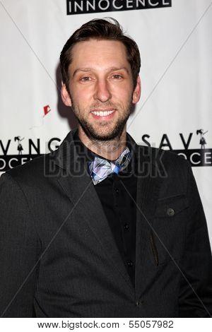 LOS ANGELES - DEC 5:  Joel David Moore at the 2nd Annual Saving Innocence Gala at The Crossing on December 5, 2013 in Los Angeles, CA