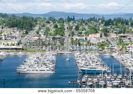 Marina at Anacortes, Washington