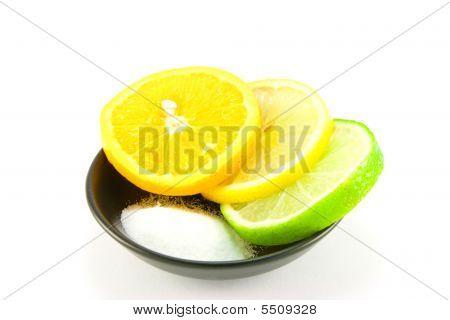 Citrus Fruit And Salt