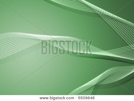 Green Twirls