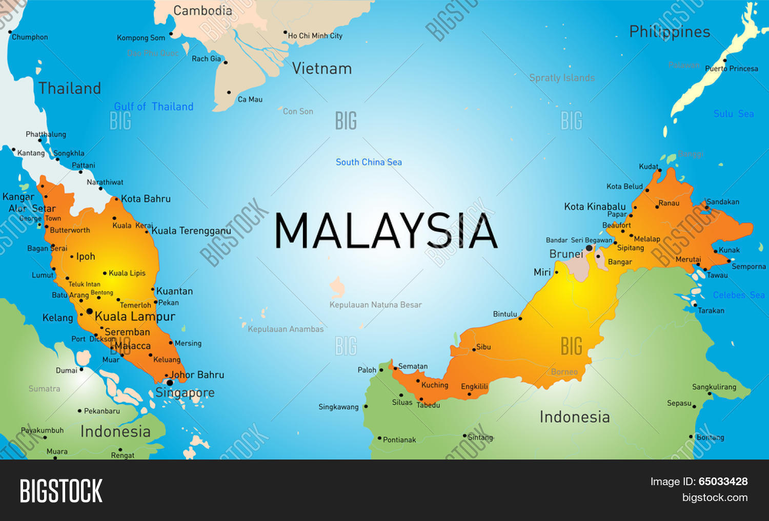 Vector map malaysia vector photo free trial bigstock vector map of malaysia country gumiabroncs Image collections