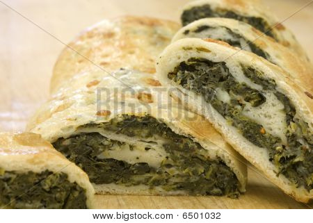 Fresh Spinach Roll