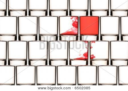 Virus Wall Background