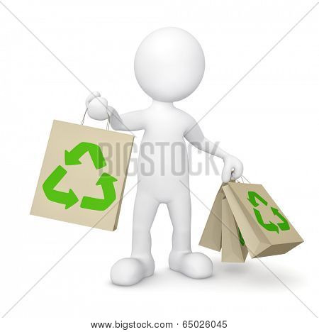 Green shopping.