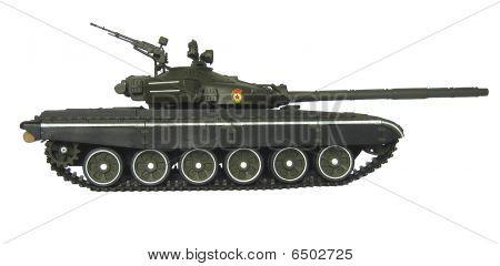 Russian T-72B Tank