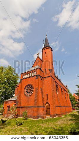 Saint Stephen Church (1904) In Torun, Poland