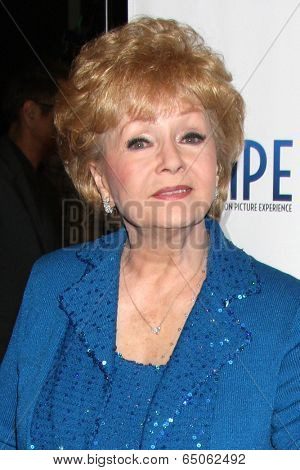 LOS ANGELES - MAY 14:  Debbie Reynolds at at the