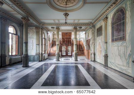 Magnificent hallway