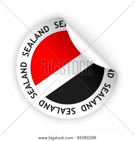 Flag Bent Sticker