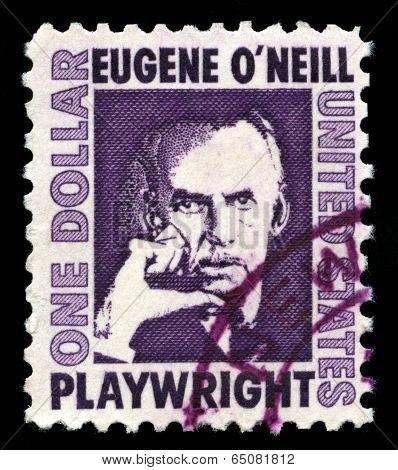 Eugene O'neill Us Postage Stamp