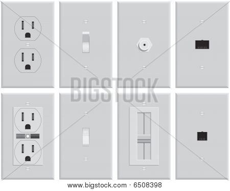 Wall Electrical Plates